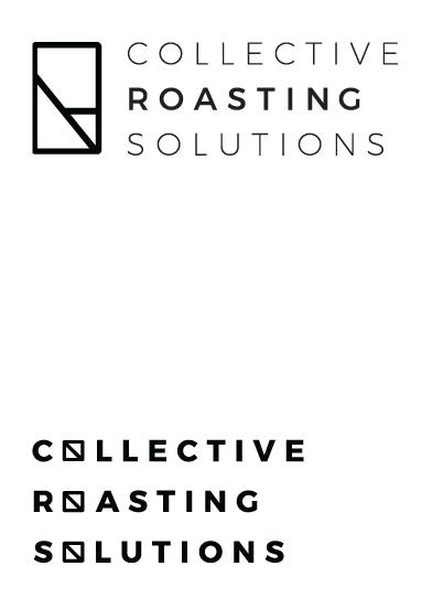 Coffee Roasting Solutions minimal logo by Nik Hori Graphic Design Sydney
