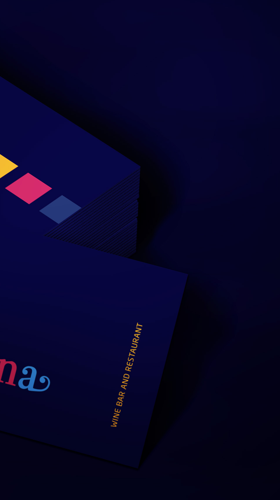 Barcelona_card_mockup Nik Hori Graphic Designer Sydney