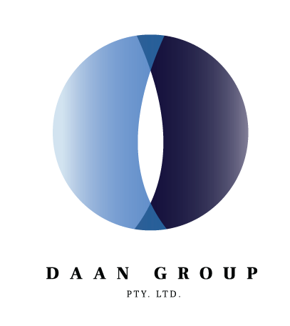 DAAN group logo Nik Hori Design Sydney