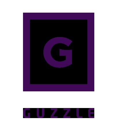 Guzzle logo Nik Hori Design Sydney
