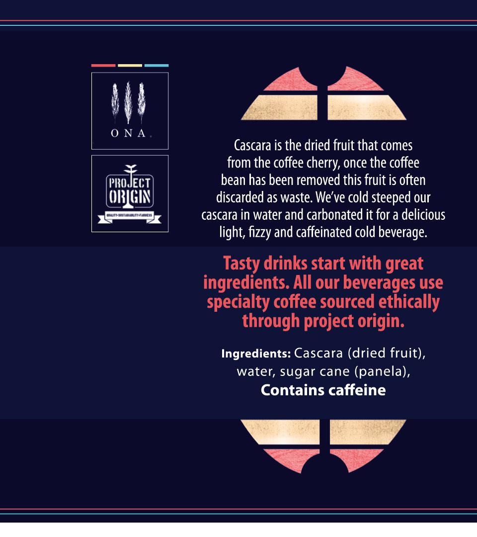 cascara label design